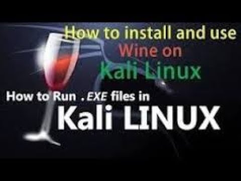 How to install and run Wine in Kali Linux 2018 1