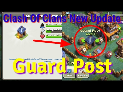 GUARD POST!!  WHAT HEPPEN FOR GUARD  - CLASH OF CLANS - SIVANN SAN