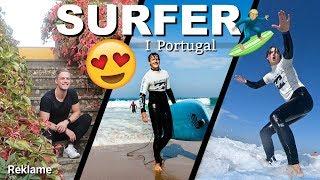EN DAG I PORTUGAL | Vinsmagning, Surf, Pool, Fest, Vlog