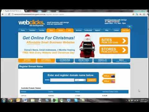 Australian Domain Name Check - Domain Name Availability