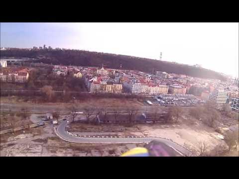 Pelikan Filip rc glider Flying in Prague Karlin