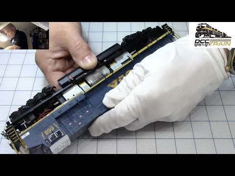 Repair HO Broadway Limited GE AC6000 CSX Diesel Locomotive Rolling Thunder BLI 4786 DCCTRAIN Live