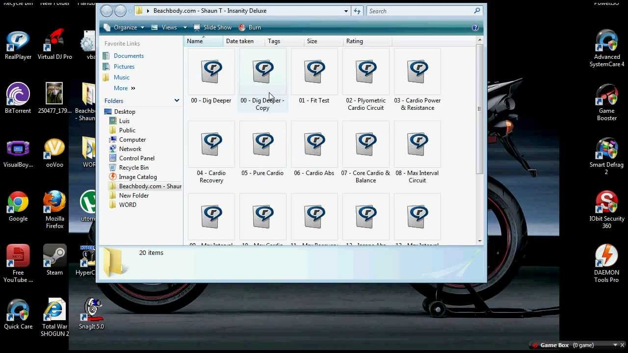 insanity max 30 download bittorrent