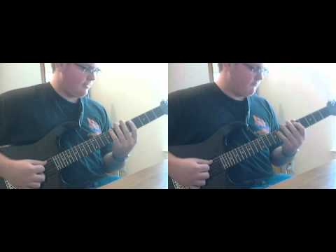 At The First Sign of Rust - Wretched dual guitar cover