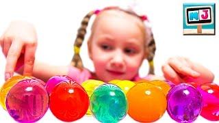 Выращиваем в воде большие шары ОРБИЗ Growing in the water big balls ORBEEZ!!!(, 2015-12-10T15:55:12.000Z)