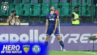 Hero of the Match - Nerijus Valskis | Chennaiyin FC 4-1 Jamshedpur FC | Hero ISL 2019-20