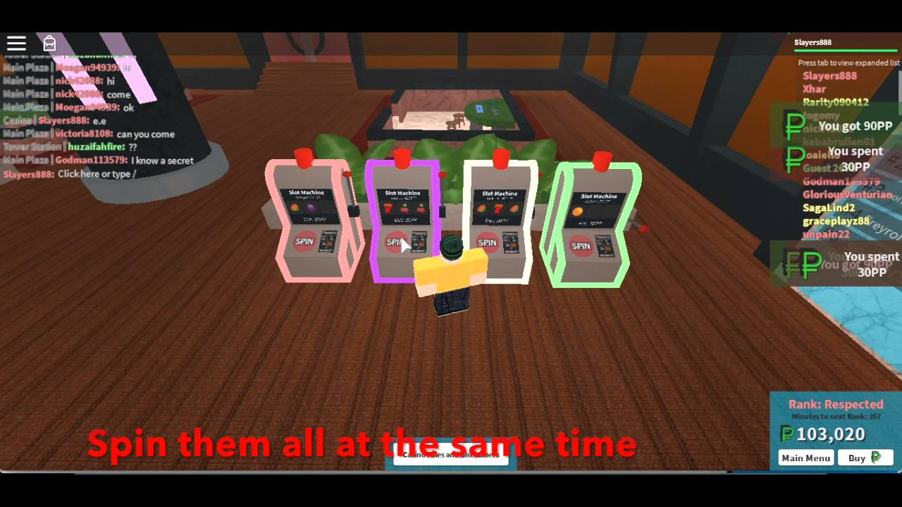 How To Win A Jackpot In The Plaza Under 5 Minutes Roblox Youtube