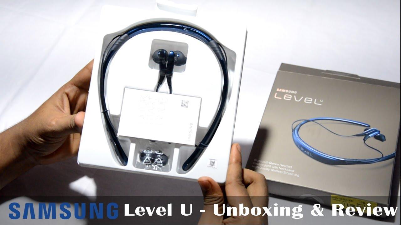 Samsung Level U Unboxing Review ह न द Hindi Youtube