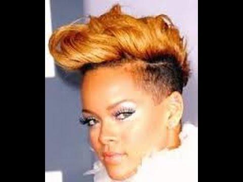 Tutoriel Coiffure Le Half Hawk De Rihanna Youtube