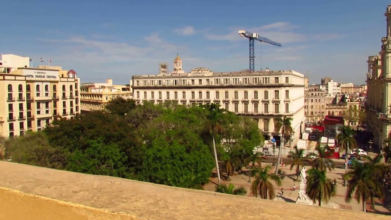 La Habana Desde Terraza Del Hotel Inglaterra 2015