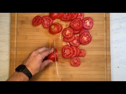 Cómo hacer Tomates Secos, Receta al horno en aceite de oliva y especies
