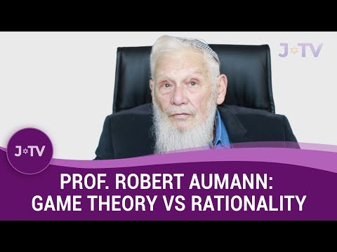 Is there conflict between game theory & intelligent rational decision? - Prof. Robert Aumann