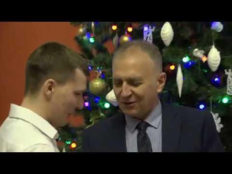 Новогодний прием Главы администрации города Кузнецка С.А.Златогорского