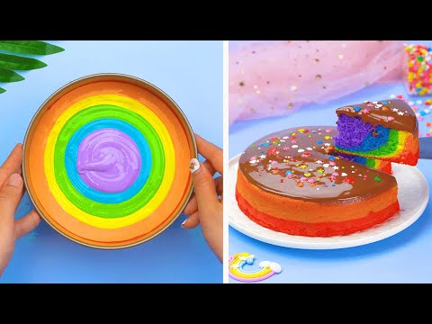 Easy & Quick Cake Decorating Tutorials for Everyone | Yummy Chocolate Cake Decorating Recipes