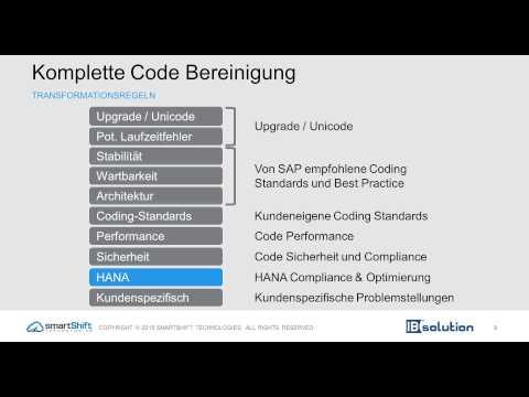 SAP HANA Performance durch automatisierte ABAP Code Optimierung
