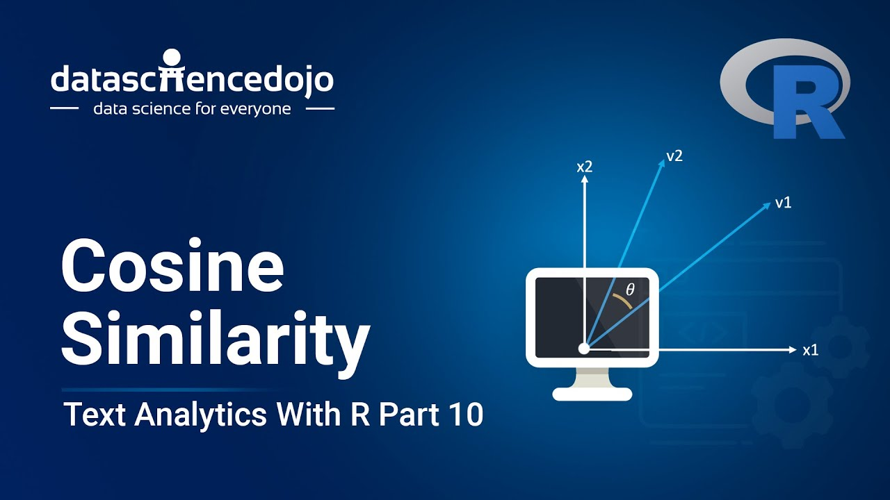 Introduction to Text Analytics with R: Cosine Similarity