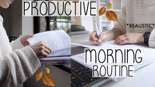 Скачать A VERY REALISTIC MORNING ROUTINE 2019 AUTUMN EDITION WORKING FROM HOME AD