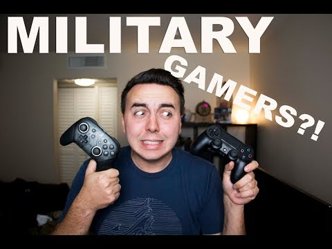 HOW IS GAMING WHILE IN THE MILITARY?!