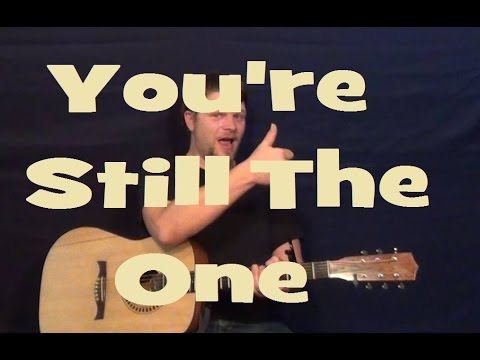You're Still the One (Shania Twain) Guitar Lesson Easy Strum Chord How to Play Tutorial