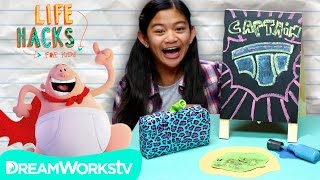 Captain Underpants Hacks! | LIFE HACKS FOR KIDS