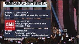 Berikut Jadwal & Tema Debat Pilpres 2019