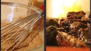 Chocolate Pumpkin Spice Fudge Brownies
