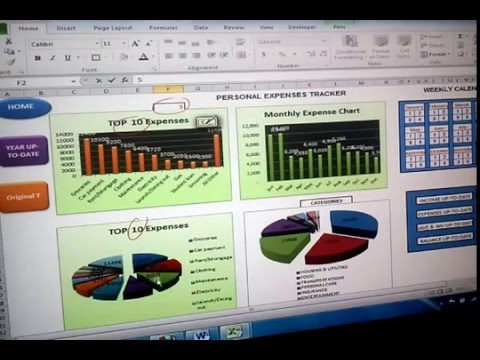 Personal-Expenses Tracking and Budgeting