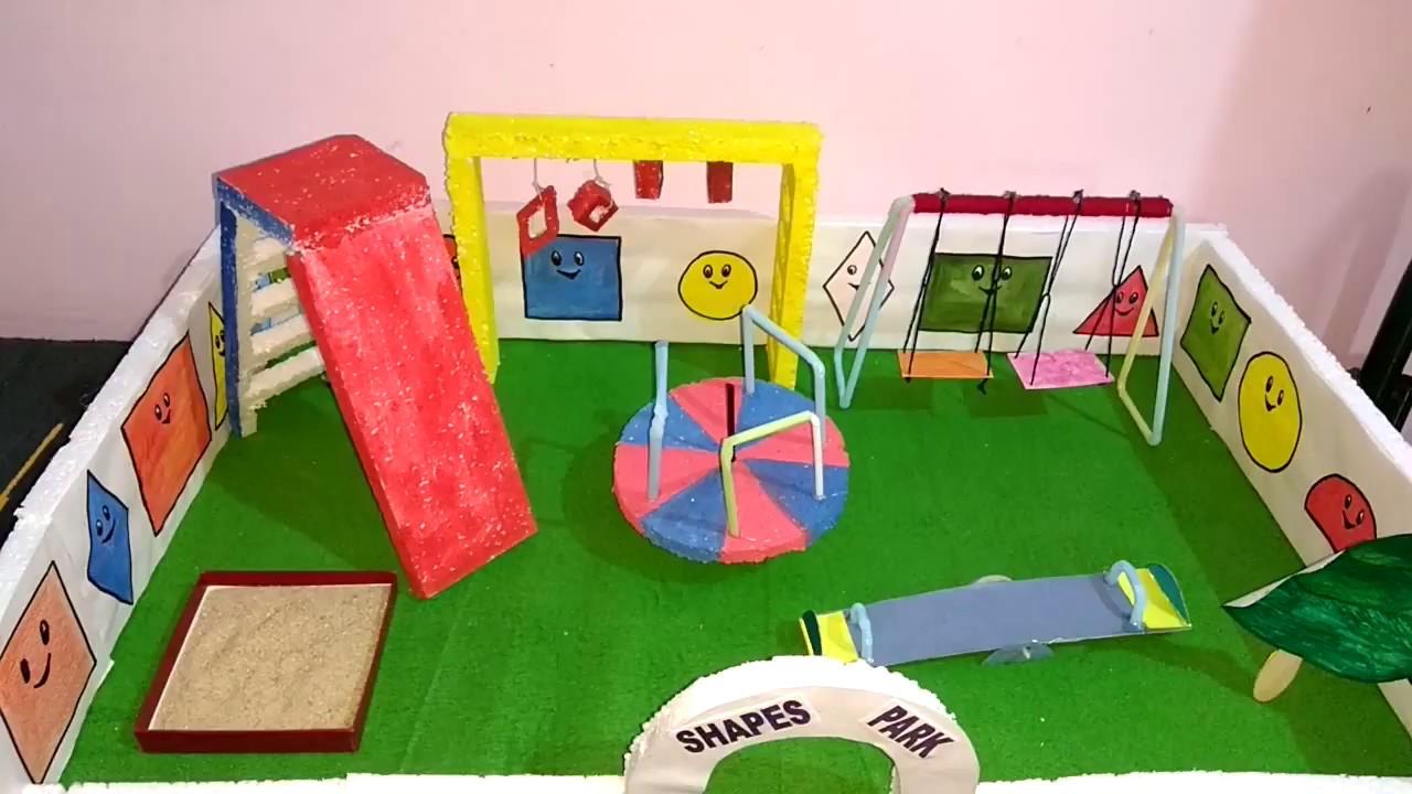 Shapes School Project Model