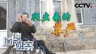 《道德观察(日播版)》 20190525 爬出来的尊严| CCTV社会与法