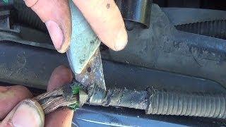 Réparer un faisceau électrique soi même - Technique de réparation des fils sectionnés & dénudés
