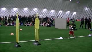 Yaya als Dribble Chion tijdens Ajax Cs Clinics Kersteditie