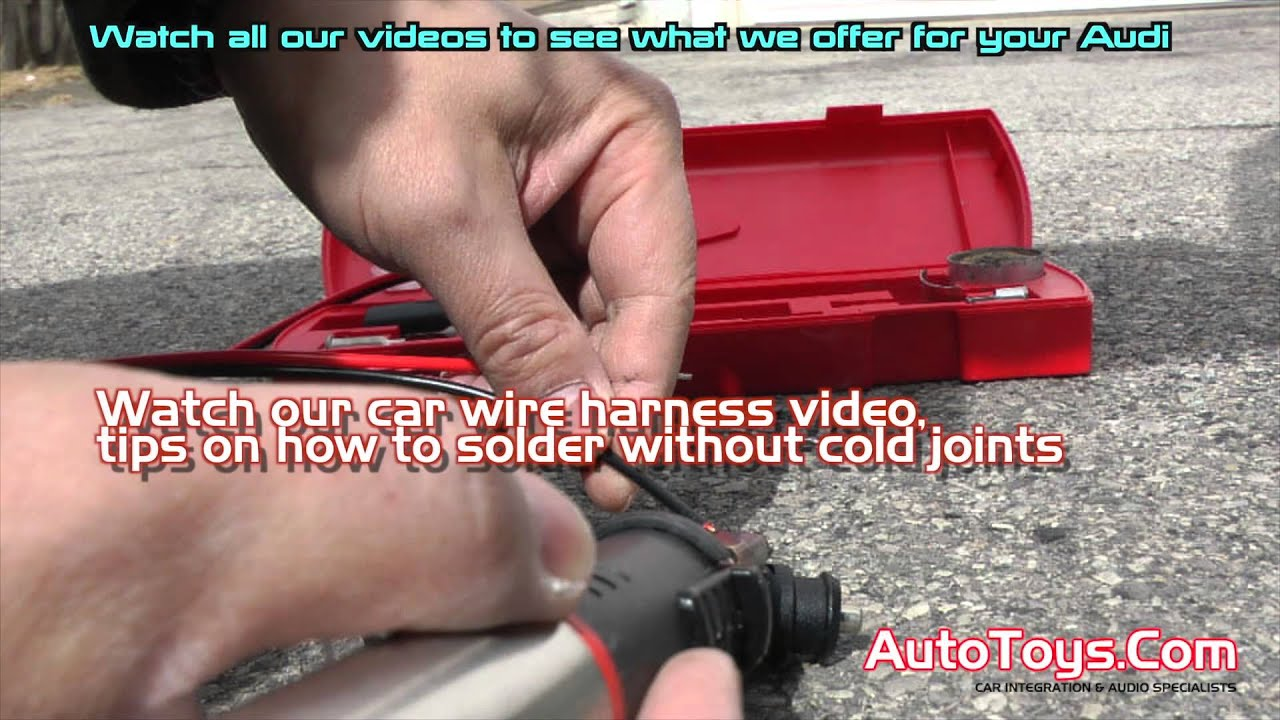 Valentine One Wiring With Fuse Tap And Cigarette Lighter Plug Audi Jack Diagram A4 S Line Youtube