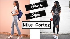 lowest price 9aedc eea40 ... How to Style Nike Cortez ...