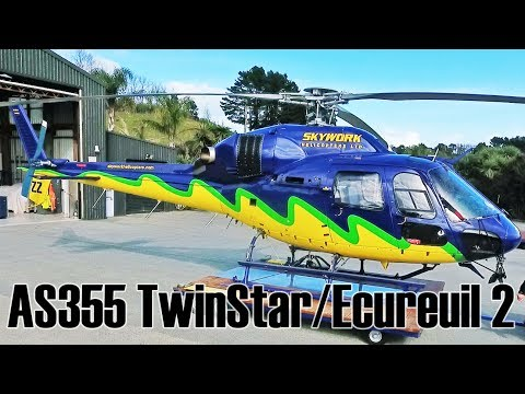 AS355 N TwinStar Écureuil 2 Twin Squirrel AStar helicopter review
