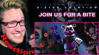 join us for a bite fnaf sister location song by jt machinima reaction   hype