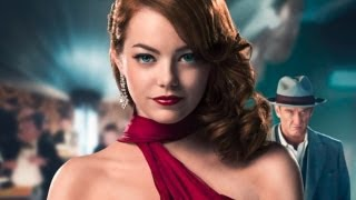 ... - emma stone was psyched to play a 1940s hollywood moll in the new action-packed drama, 'gangster squad.' spent a...