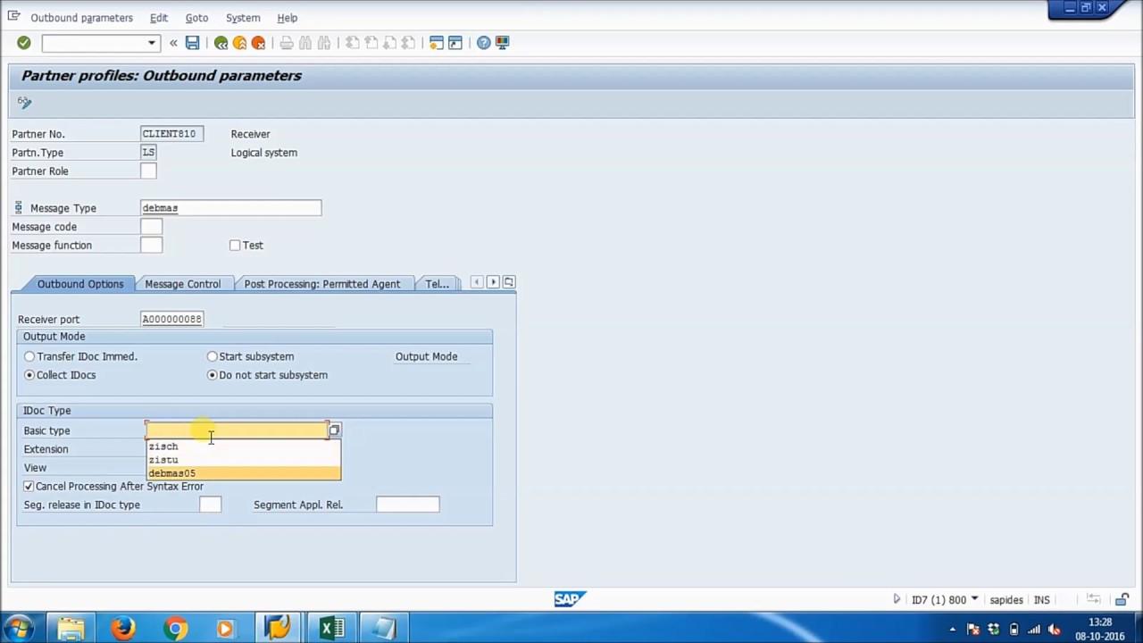 SAP ABAP - STANDARD IDOC