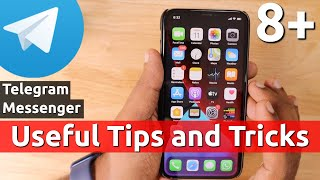 Useful TELEGRAM TIPS and TRICKS for iPhone Users | Beginners Guide