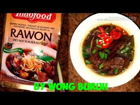 Resep Rawon Yang Simple
