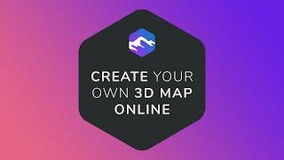 Create custom 3D maps online - 3D-Mapper.com