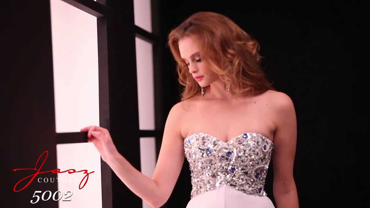 Jasz Couture 5002 Dress - YouTube