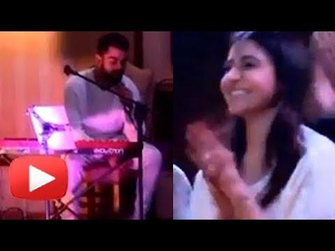 Virat Kohli SINGING For Anushka Sharma At Wedding Celebrations