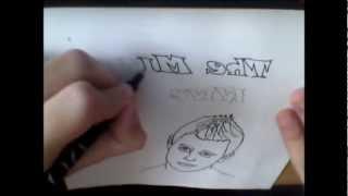Dibujando a The Miz de Wwe