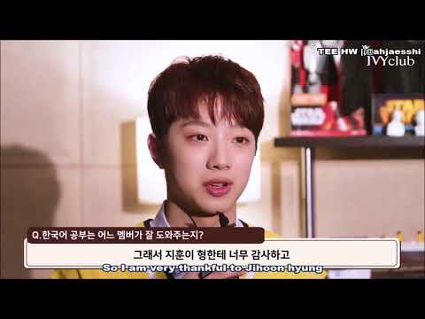 [ENG] Wanna One Lai Guanlin - Ivy Club Interview