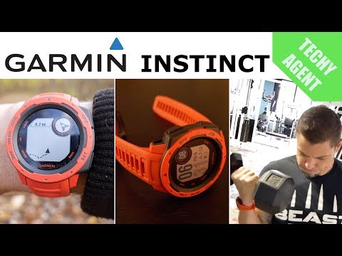 Garmin Instinct - Full Fitness and GPS Review!