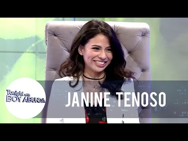 TWBA: Fast Talk with Janine Teñoso