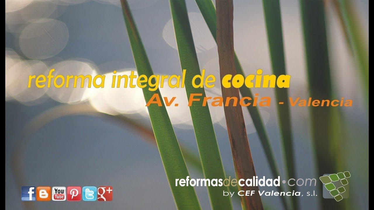 V deo dise o proyecto y reforma integral de cocina for Reforma integral cocina valencia