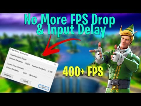Reduce Input Lag & Boost FPS! Fortnite Chapter 2 | Chapter 2 FPS Guide! (Fix Stutters)