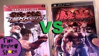 Tekken Dark Resurrection VS Tekken 6 (PSP) Review & Comparison