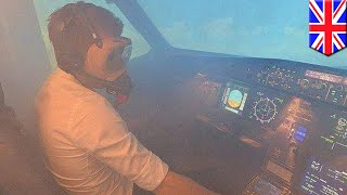 Aerotoxic syndrome: Toxic cabin air caused by bleed-air system could make you sick - TomoNews
